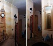 Художественная роспись стен во Владимире.