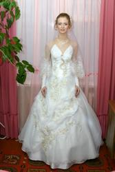 Продаю свадебное платье бу 1 день